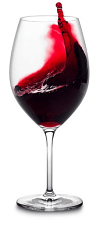 travel langhe full red wine glass